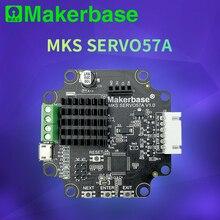 3D yazıcı kapalı döngü servo motor NEMA23 MKS SERVO57A tarafından geliştirilen Makerbase bu önler kaybetme adımları