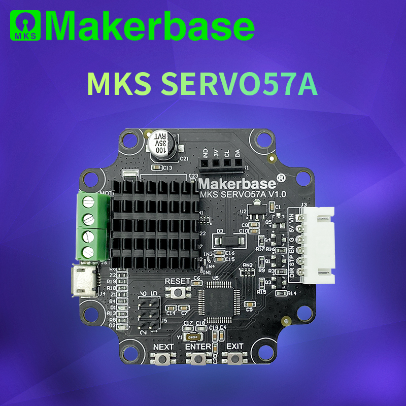 Makerbase MKS SERVO57A  NEMA23 closed loop stepper motor Driver CNC 3d printer parts prevents losing steps for Gen L SGen L