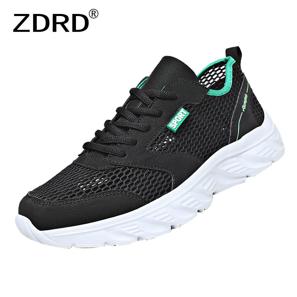 Кроссовки мужские сетчатые для бега, легкие дышащие, Нескользящие, повседневная спортивная обувь, лето