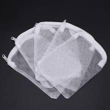 5 sztuk/zestaw filtr akwariowy torba Fish Tank siatkowa torba Zipper netto staw dla Bio Ball aktywny węgiel izolacja przechowywania 5 rozmiary 40JA
