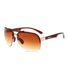 Design Classic Polarized Men Sunglasses Glasses Fishing Driving Coating Metal Frame Male Eyeglasses Oculos