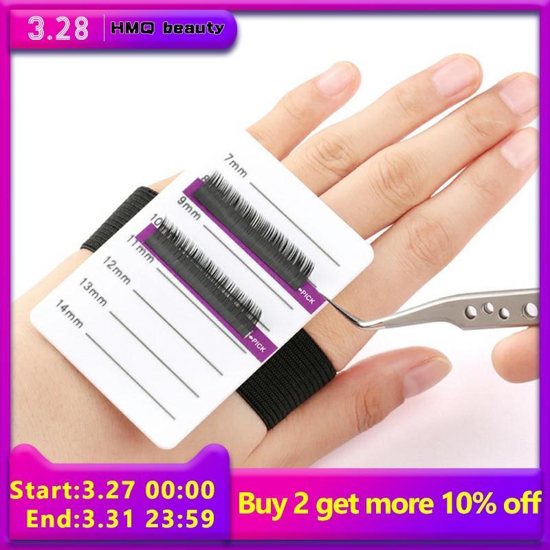 Acrylic Eyelashes Lashes Display Palette Extensions Pallet & Bandage Lash Glue Pad Eyelash Stand Holder Extension Makeup Tools