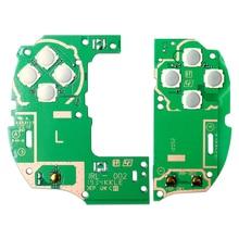 Substituição da placa de circuito do botão esquerdo direito para psv1000 ps vita 1000 kits de reparo do controlador