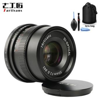 7 artisans 35mm F2 Large Aperture Paraxial M-mount Lens for Leica Cameras M-M M240 M3 M5 M6 M7 M8 M9 M9P M10 Free Gift