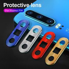 Aluminum Ring Protector Case For Huawei P30 P20 Mate 20 Pro Nova 4 P30 P20 Lite Back Lens Cover Case For Huawei Honor 20 Pro(China)