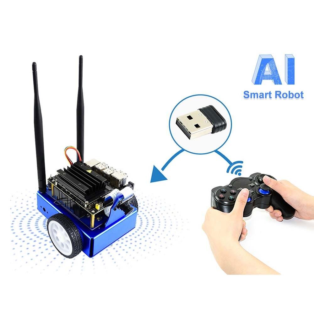 JetBot AI Acessórios do Kit, Adicione-ons para Nano para Construir JetBot Jetson, Reconhecimento Facial, objeto de Monitoramento, Seguindo A Linha...