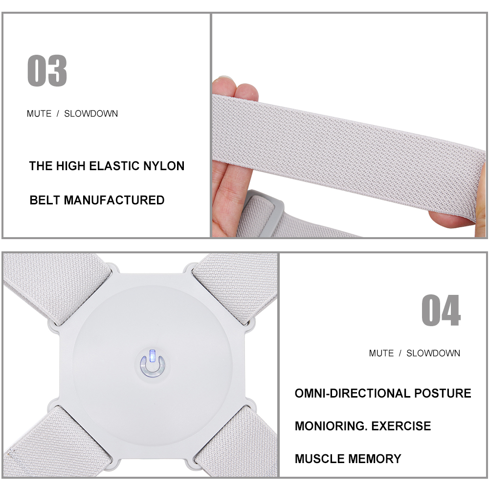intelligent posture corrector with vibration reminder