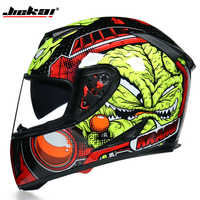 DOT Motorcycle Helmets Double Lens Racing Safety mountain full face helmet Moto Helmet moto cross casco casque capacete