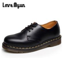 Женская обувь из натуральной кожи; женские низкие ботинки; Рабочая обувь; армейские ботинки; Zapatos; Уличная обувь; большие размеры 47 PP-0505