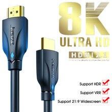 1/15/2/3 метров интерфейсный кабель hd 8k шнур 48 Гбит/с высокоскоростной