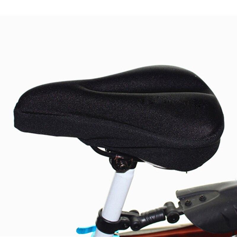 Сиденье для горного велосипеда, чехол для сиденья велосипеда из силикагеля, комфортная подушка, чехол для сиденья велосипеда, утолщенные