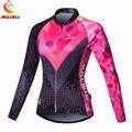 Женская весенне-осенняя велосипедная Джерси с длинным рукавом, одежда для горных гонок, велосипедная одежда Ropa Ciclismo, Высококачественная ве...