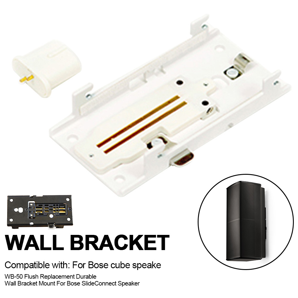 Wb 50 Durable Steel Replacement Accessories Mount Easy Install Wall Bracket Stand Flush Holder For Bose Slideconnect Speaker Speaker Accessories Aliexpress