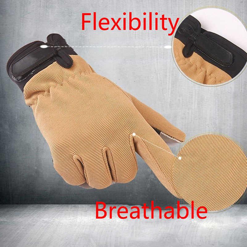 Herren Leichte Atmungsaktive Taktische Handschuhe Reiten Nicht-slip Wearable Volle Finger und Halb Finger Handschuhe