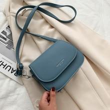 Trend w modzie torebki Crossbody dla kobiet solidna torba na ramię z klapką projektant torebki i portmonetki małe torebki damskie Messenger