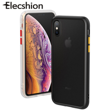 New Matte Phone Case For iPhone 7 8 Plus Soft Silicone Cover X XR XS Max Micro Transparent Business Back