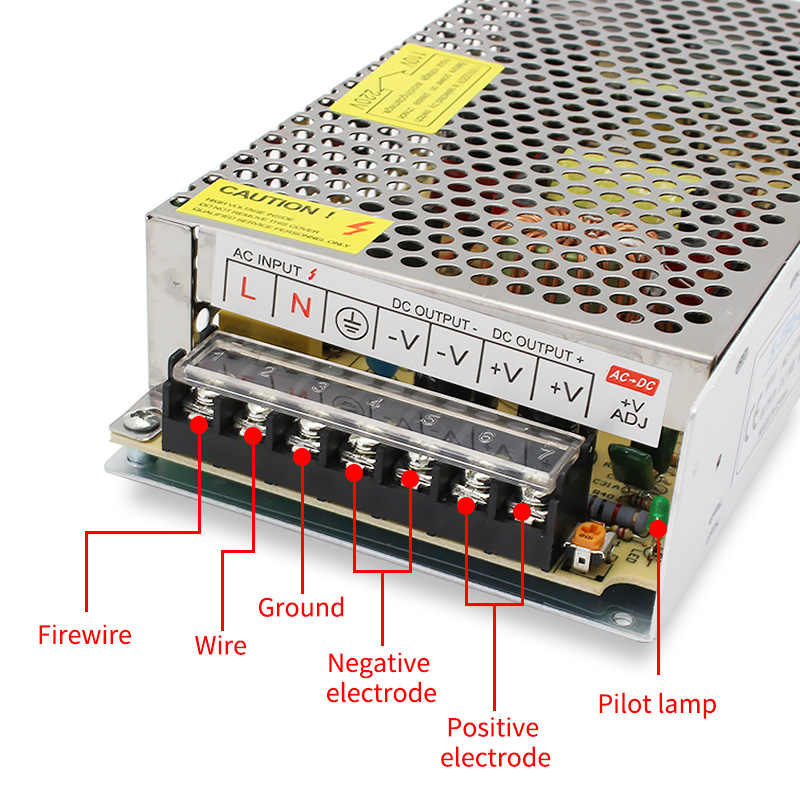 Alimentation électrique 220v to 220V 12V 24 V | Alimentation de commutation 5V 12V 24 V 36V 1A 2A 3A 5A V à 5 12 24 V, alimentation électrique