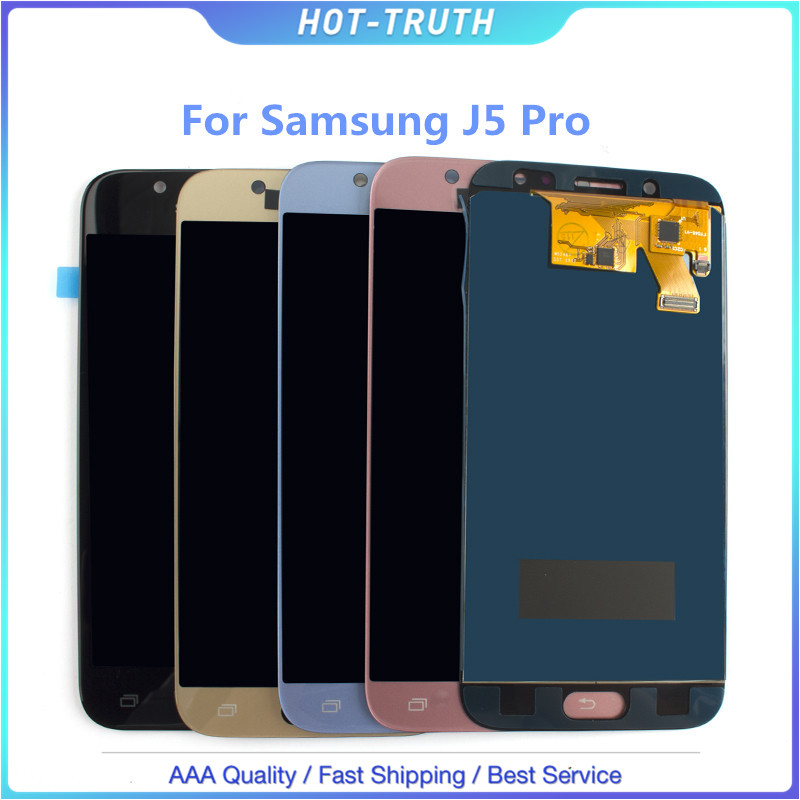 10 Pcs/Lot pour SAMSUNG GALAXY J530 J530F J530FM SM-J530F J5 Pro 2017 LCD écran tactile numériseur assemblage de capteur tr