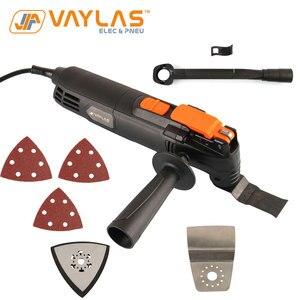 Осциллирующий многофункциональный инструмент AC 300 Вт 15000-23000р/мин деревообрабатывающий инструмент Электрический триммер пилы инструмент д...