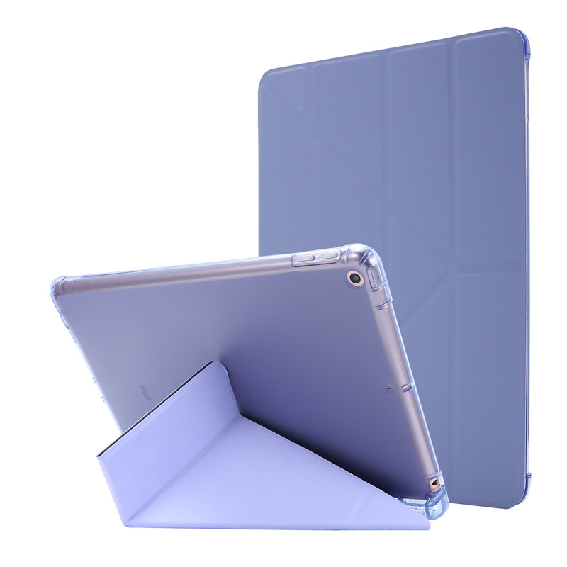 purple Green Cover For iPad 7th Generation Case 10 2 inch PU Leather Flip Stand Smart Protective Cover