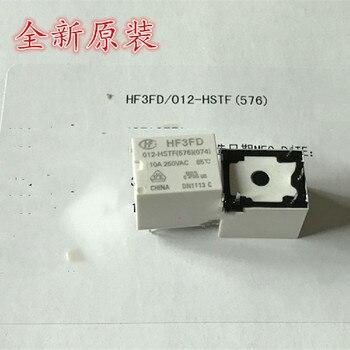 5 piezas HF3FD-012-HSTF relé 4-pin 12V 10A HF3FA-012-HTF HSF