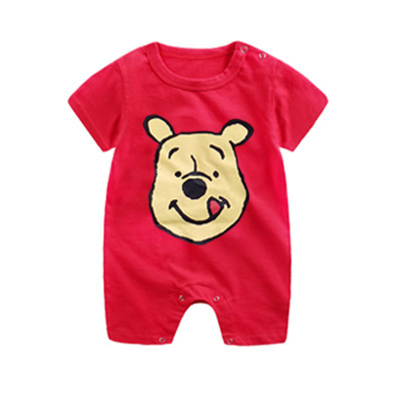 Ha7a2678338d941938d100307a4cf1e6cY Newborn Mickey Baby Rompers Disney Baby Girl Clothes Boy Clothing Roupas Bebe Infant Jumpsuits Outfits Minnie Kids Christmas