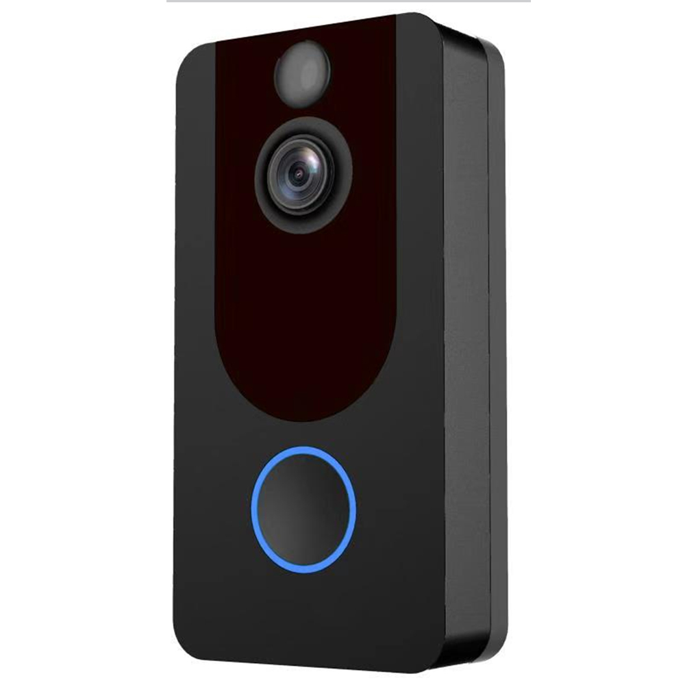 Intelligent Video Doorbell Intercom Phone Doorbell Camera Infrared Remote Control Record Home Security Monitoring