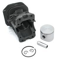 Kit de Pistão Do cilindro 41 40mm para Motosserra Husqvarna 141 Motosserra Jonsered 2040 CS2040 141LE 142 142E PN 530069941 530069414|Bastões| |  -