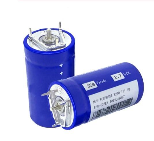 2PCS-24PCS NEW Original Super Capacitor Fala Capacitor 2.7V 350F  350F2.7V 33X60MM