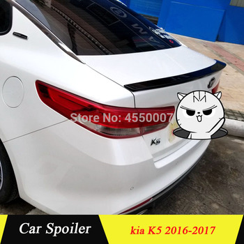 UBUYUWANT For Kia K5 Rear Roof Spoiler ABS Plastic Material Rear Trunk Lip Boot Wing Spoiler For Kia K5 Optima 2016 2017 фото