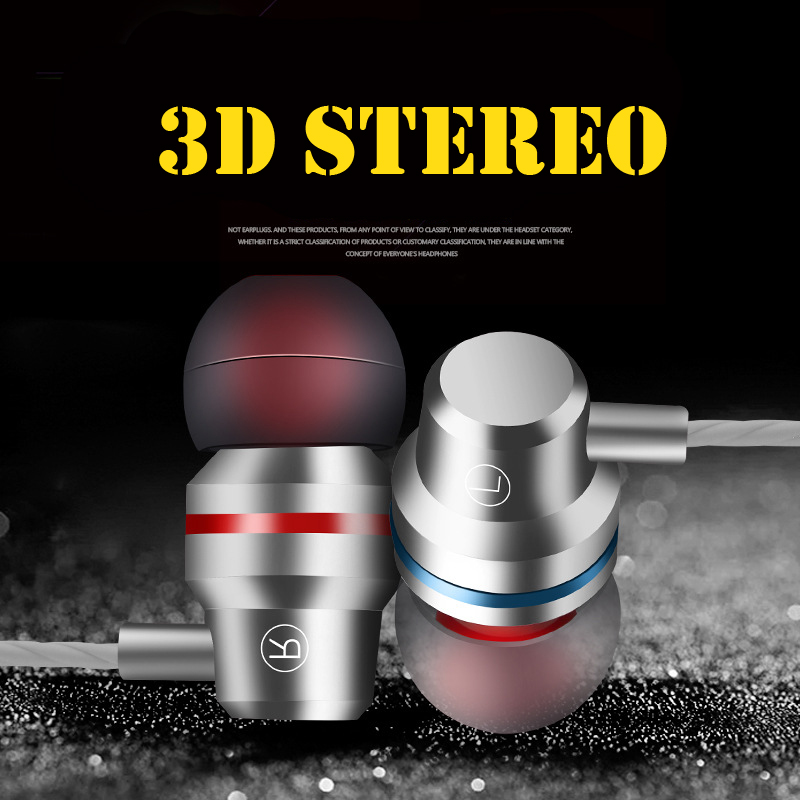 Simvict Original Headphones Stereo In-ear Fashion earphone Sport Headset Bass Wired earbuds for Samsung S7 xiaomi redmi note 7