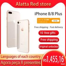 Originele Unlocked Apple Iphone 8/Iphone 8 Plus Gebruikt Cellphone 4.7/5.5Inch Ios Iphone8 Smartphone 64Gb/256Gb Rom 4G Lte 7 + 12MP