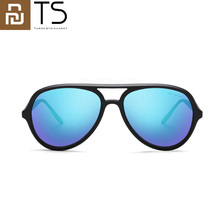 Nouveau Youpin TS glace bleu aviateur lunettes de soleil verres polarisés lunettes de soleil homme et femmes pour les voyages dété