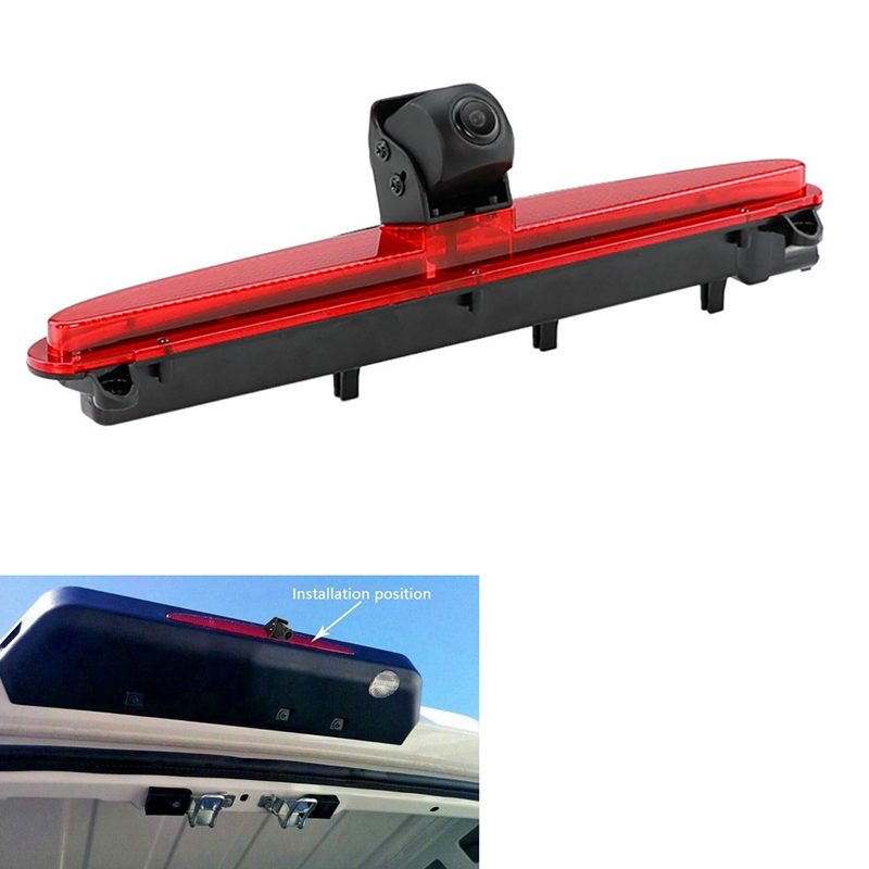 Car Brake Light Rear View Back Camera for IVECO Daily 2015-2017 Parking Back Up Reverse Night Camera
