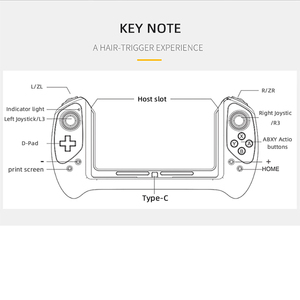 Image 5 - iPega 9163 Nintend Switch Game Controller Gamepad for Nintendo Switch joystick Plug & Play Game pad Handle for N Switch