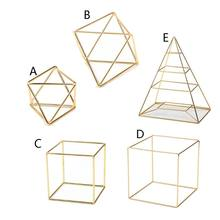 Pyramid Square Polygon Hanging Jewelry Organizer Necklace Earrings Rack Jewelry Display Stand(China)