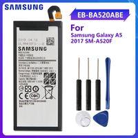 SAMSUNG batterie de remplacement d'origine EB BA520ABE pour Samsung GALAXY A5 2017 A520 SM A520F 2017 édition A520F 3000mAh authentique|Batteries de téléphone portable|   -