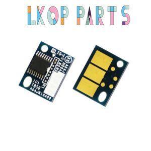 5pcs new  Europe black toner cartridge chips for LEXMARK MX910 MX911 MX912 64G0H00 toner reset chips