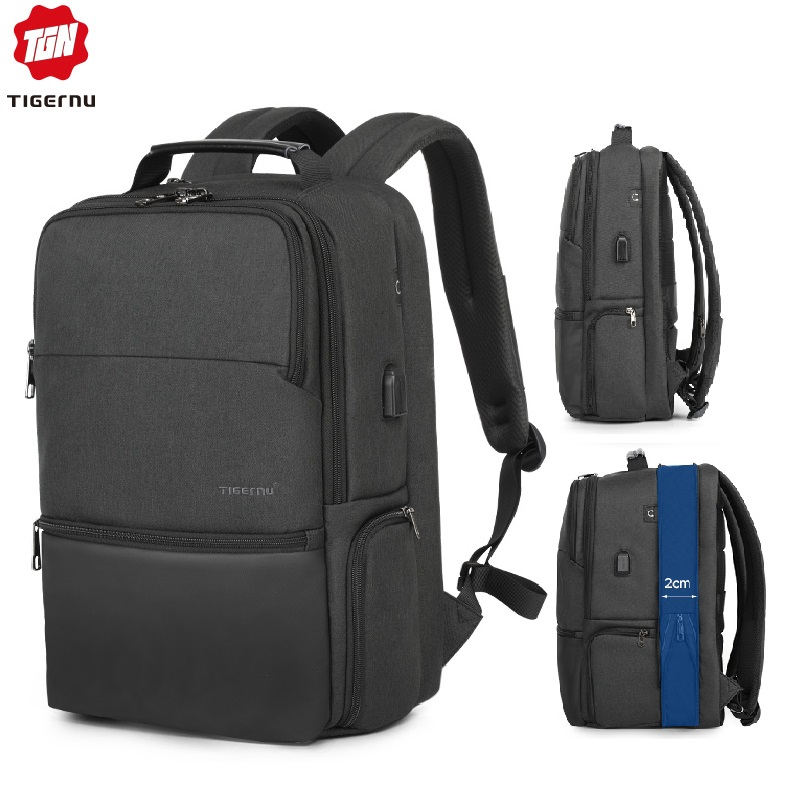 New Tigernu Man Laptop Backpack Fit 19 Expandable backpack Travel Men Male Bag Anti thief Mochila