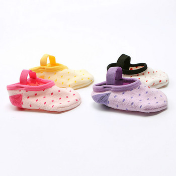 Fashion Baby floor socks Girls Boys Cute Cartoon Non-slip Cotton Toddler Elastic Socks First Walker Shoes for Newborns 1-3 years 1