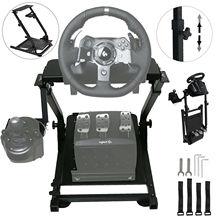 Автокарьера гоночного рулевого колеса поддержка для logitech G25 G27 G29 и G920 складной руль подставка не включает Рулевое управление