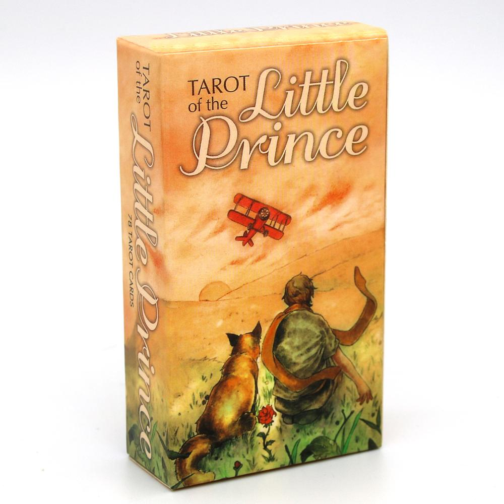 Tarot of the Little Prince Whimsical Loosely Follow the Rider-Waite-Smith 78 Deck Cards Game Divination Saint-Exup    ry Set Oracle