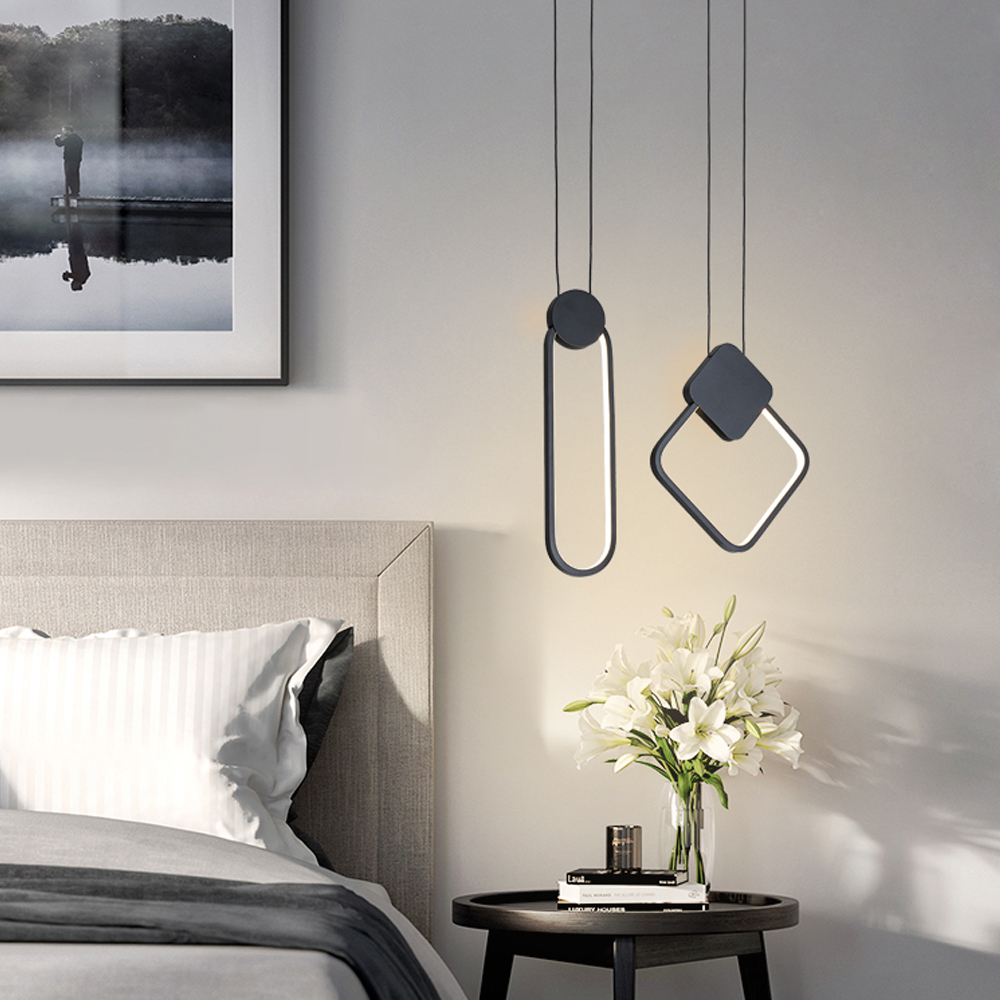 cheapest Nordic Resin Squirrel Led Pendant Lights Modern Industrial Hanging Animal Lamp for Children s Room Kitchen Loft Decor Fixtures