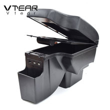 Storage-Box Chevrolet Cruze Arm-Rest Car-Styling Vtear for Usb-Interface Auto-Decoration