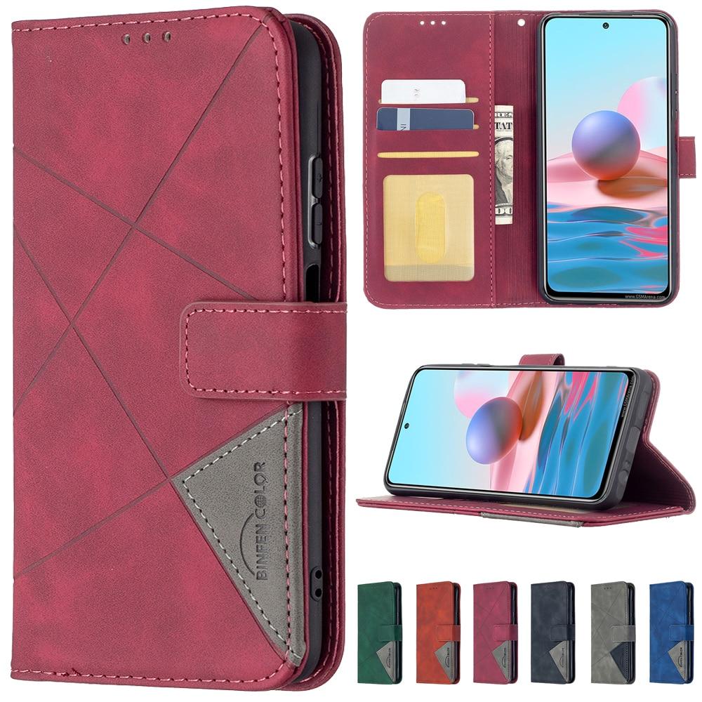 Flip Wallet Case For Xiaomi 11i 10T CC9 Lite Redmi Note 10/9 Pro Max 8 7 Pro Redmi 9 9A 9C 8 8A 7A Mi POCO F3 M3 X3 NFC PU Cover