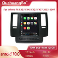 Ouchuangbo Android 10,0 SC7862 Автомобильная магнитола для Infiniti FX FX35 FX45 FX25 FX37 2003-2007 GPS navig видеоплеер tesla Стиль 128 ГБ