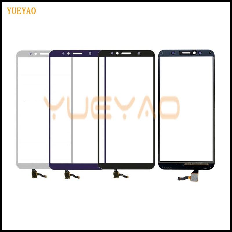 Y6 2018 écran tactile pour Huawei Y6 Prime 2018 écran tactile numériseur capteur extérieur verre lentille panneau 5.7 ''remplacement |
