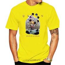 Queen - Innuendo Logo Tshirt Size S-2Xl Best Item Homme Customized Tee Shirt