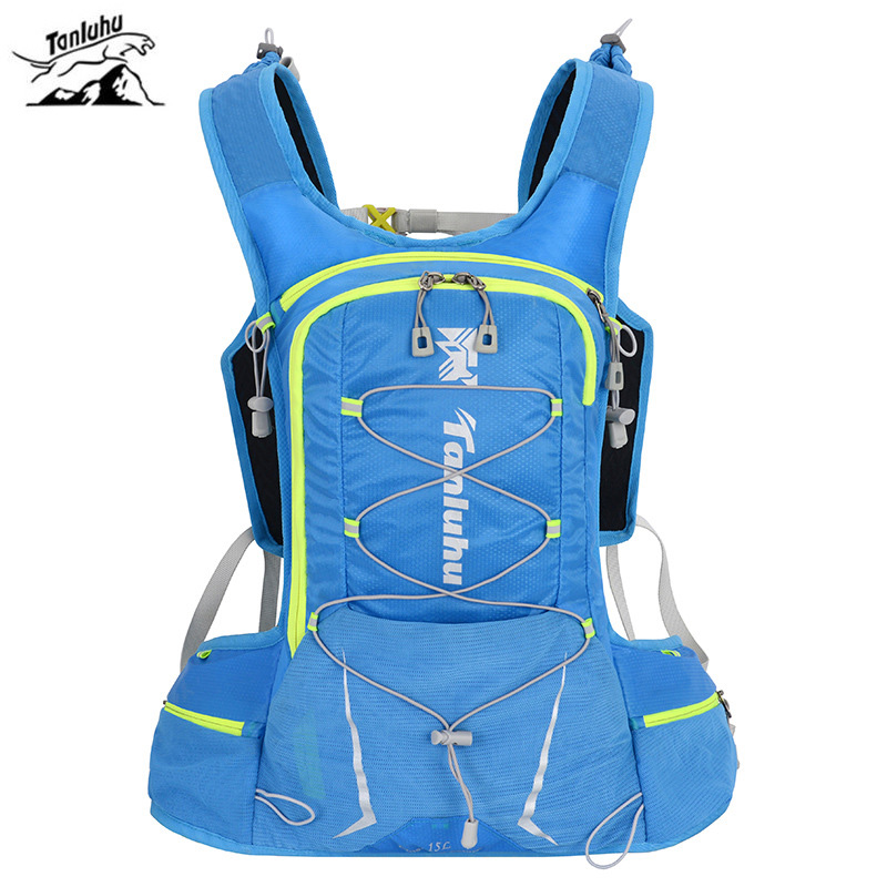 15L Outdoor Cycling Running Backpack Men Women Water Bag Backpack Ultra Light Cycling Breathable Cross Country Marathon