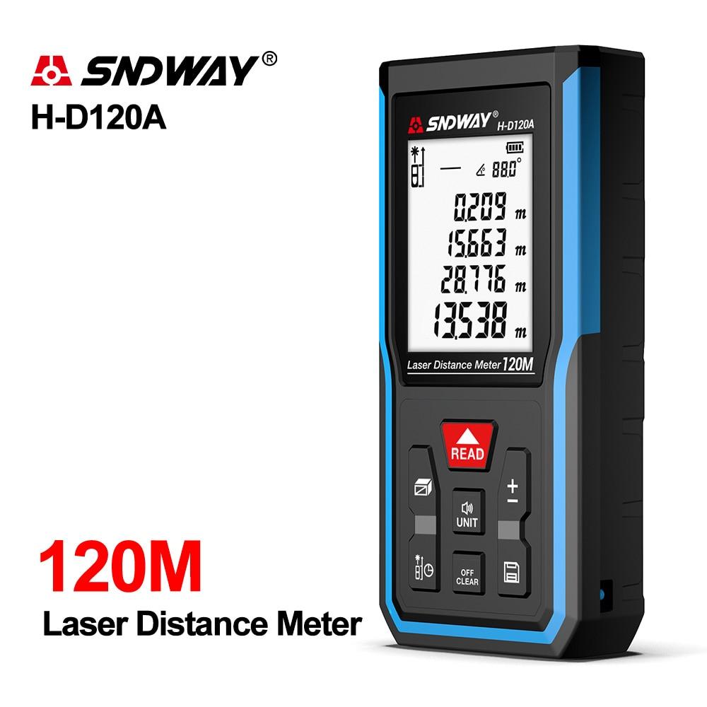 SNDWAY Laser Rangefinder Hunting Rangefinder Digital Mini Range finder Laser Tape Distance Ruler Sensor Laser Rangefinder